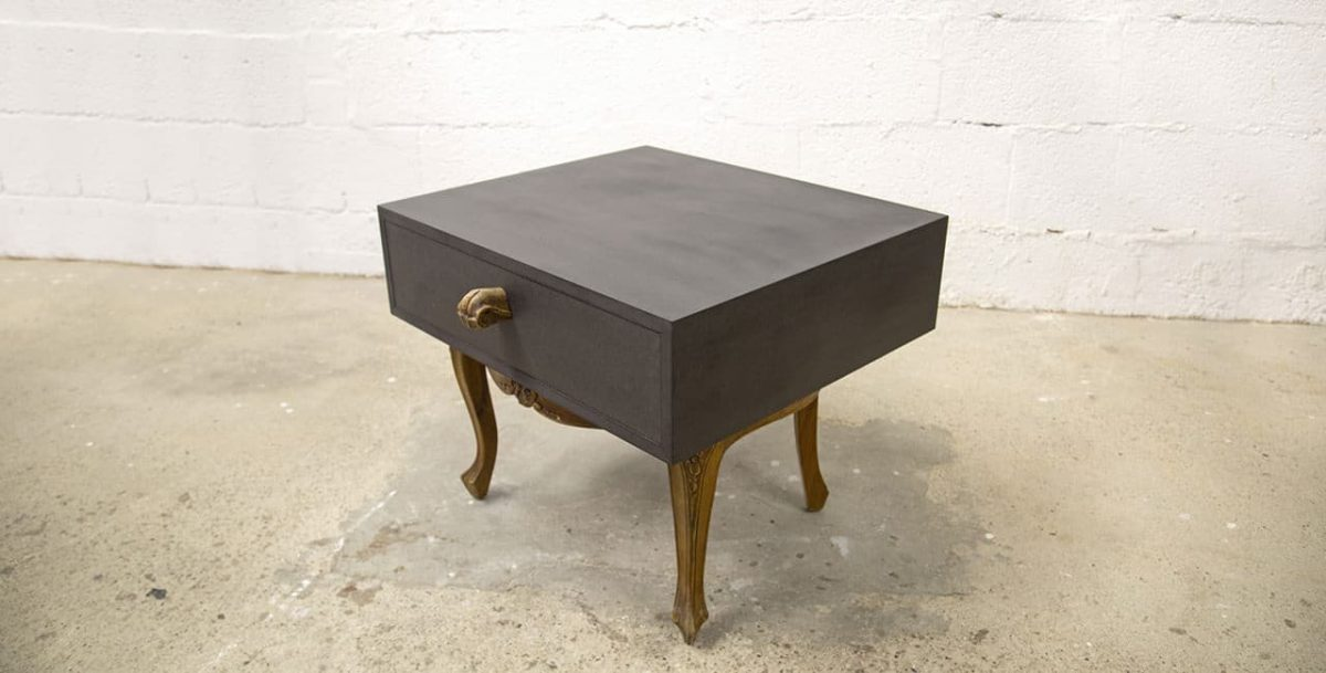 Kommode aus Stuhl im Chippendale-Stil